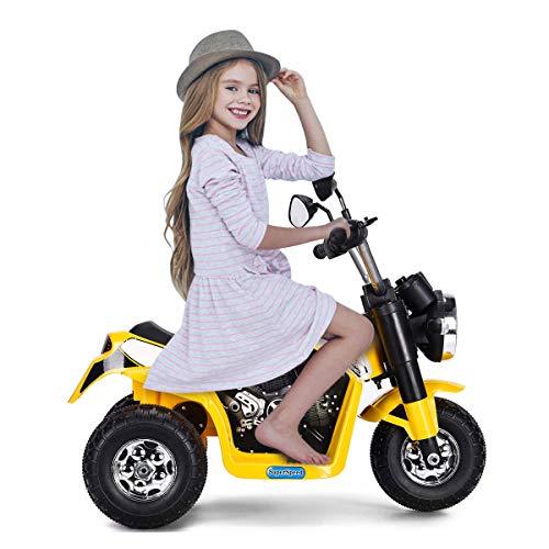 DREAMADE Elektro-Motorrad Elektrofahrzeug für Kinder,...