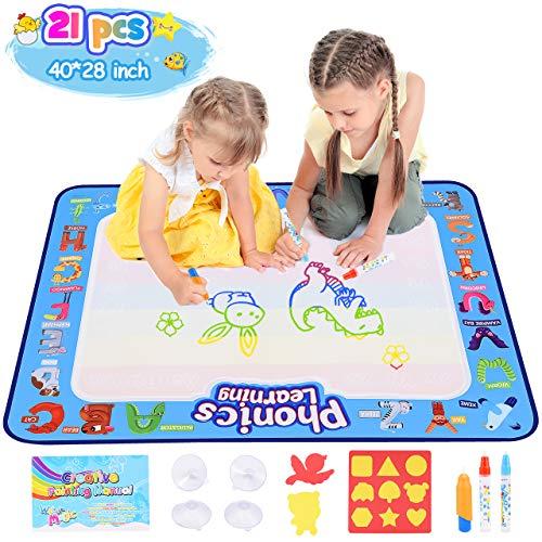 dmazing Spielzeug ab 2 3 4 5 6 Jahre Mädchen, Aqua Doodle Baby Spielzeug 12-18 Monats...