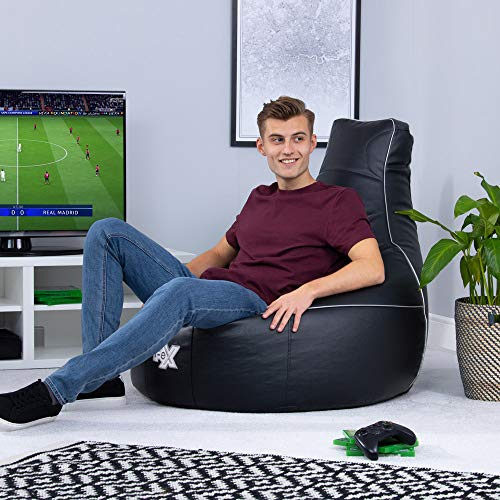 i-eX Elite Gaming-Sitzsack, Ergonomischer Gamer Sitzsack,...