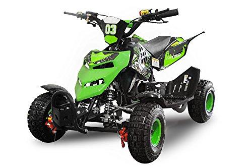 Nitro Motors 49cc Kinderquad Repti 4' Miniquad Mini Quad ATV Bike Kinder (Rot)