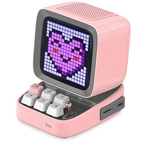 Divoom Ditoo Multifunctional Pixel Art LED Bluetooth Lautsprecher, 256...