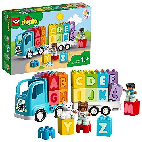 LEGO 10915 DUPLO Mein erster ABC-Lastwagen, Spielzeug für...