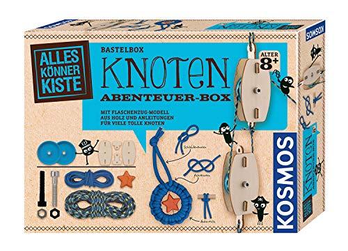 KOSMOS AllesKönnerKiste Knoten Abenteuer-Box Flaschenzug-Modell