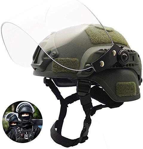 Hotour Leichter, schneller Mich 2000-Helm mit transparenter...