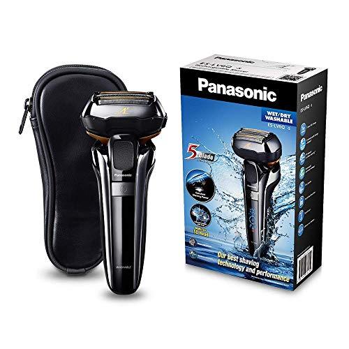 Panasonic Premium Rasierer ES-LV6Q mit 5 Scherelementen, Nass- &...