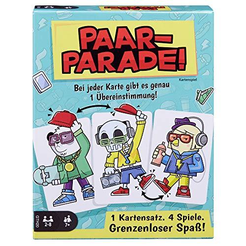 Mattel Games - GTH20 Paar-Parade Kartenspiel, Gesellschaftsspiel,...