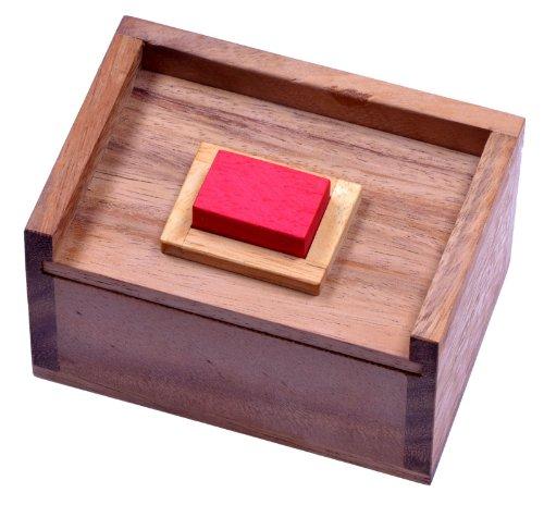 LOGOPLAY Der rote Stein - 3D Puzzle - Denkspiel - Knobelspiel -...