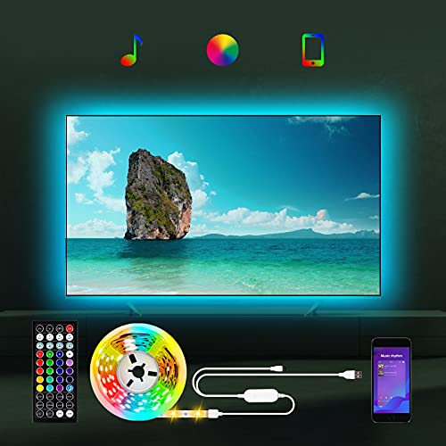 Led TV Hintergrundbeleuchtung für TV 55 bis 85 zoll, 5m TV Led...