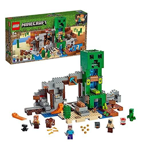 LEGO 21155 Minecraft Die Creeper Mine, Bauset mit Steve,...