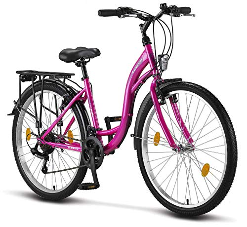 Licorne Bike Stella Premium City Bike in 26 Zoll - Fahrrad für...