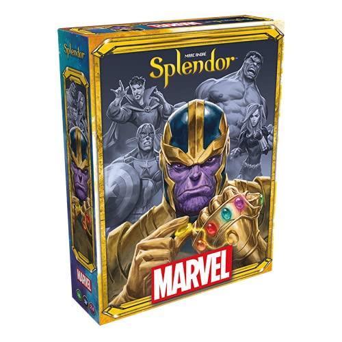 Asmodee Splendor Marvel, Familienspiel, Strategiespiel, Deutsch