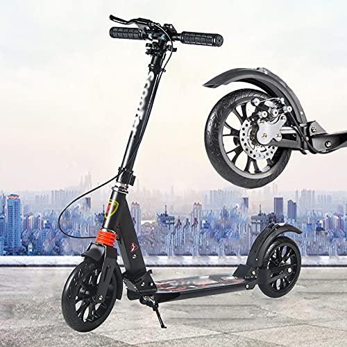 JF-Handläufe Scooter Roller Mit Großen Rädern Adult Kids Urban...