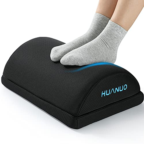 HUANUO Verstellbare Fußstütze mit 2 optionalen Fußkissen,...