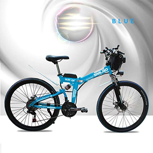 CHHD 21-Gang Mountainbike Elektrofahrrad 48V 350W 10Ah...