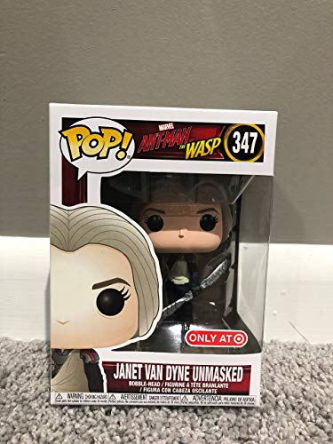 Funko Pop! 347 Marvel Ant-Man And The Wasp Janet Van Dyne...