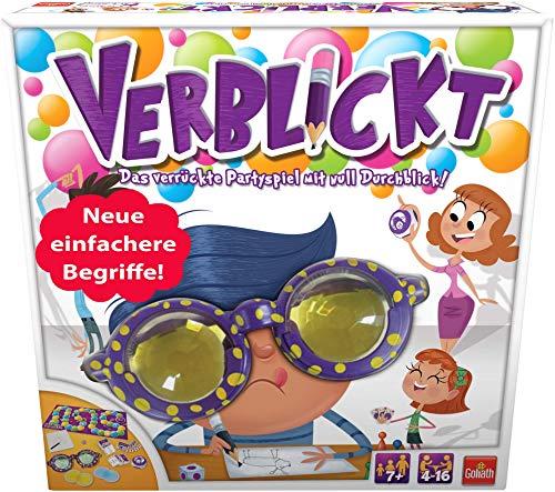 Goliath 76111 - Verblickt, Partyspiel für Jung und Alt, Begriffe...