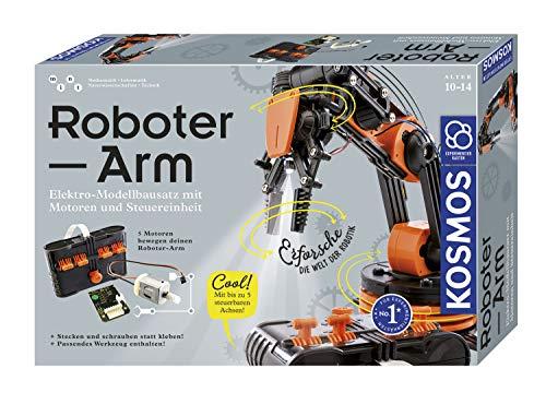 KOSMOS Roboter-Arm, Modellbausatz für deinen elektrischen...