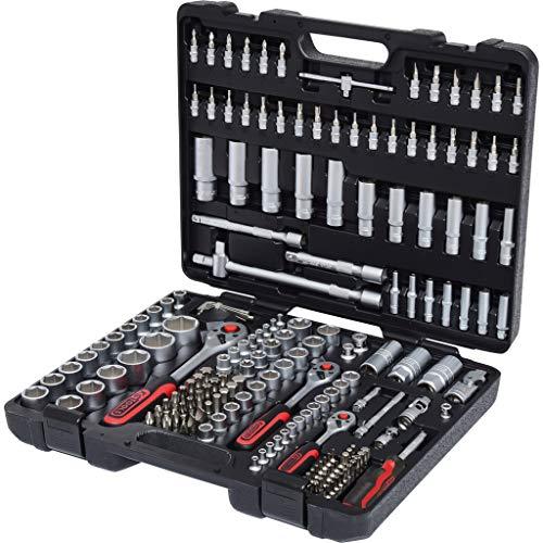 KS Tools 917.0779 1/4' + 3/8' + 1/2' Steckschlüssel-Satz, 179-tlg.