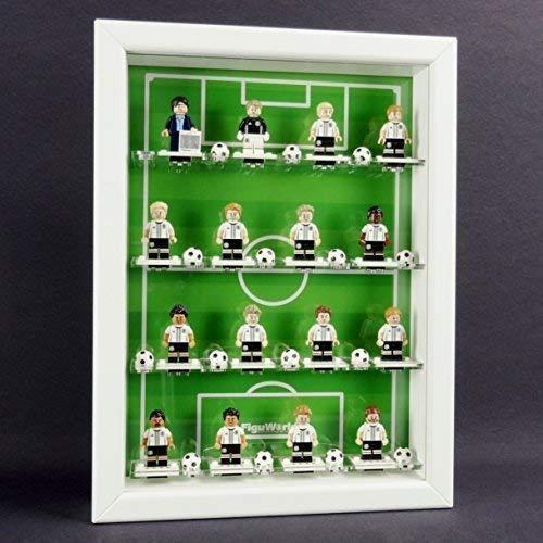 FiguCase Sammelvitrine für Lego® Serie 71014 Minifigures EM...