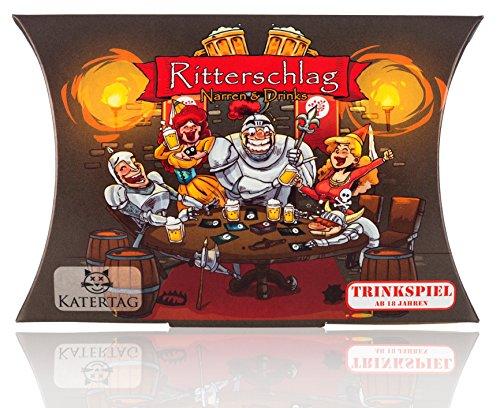Katertag Trinkspiel - Ritterschlag - Narren und Drinks - Das...