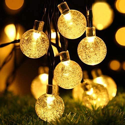 Solar Lichterkette, 30 Süße Blase LED Lichter, 6,5M / 20Ft 8...