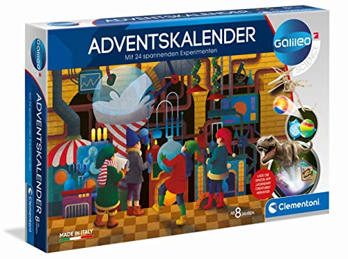Clementoni 59190 Galileo Science – Adventskalender, spannender...