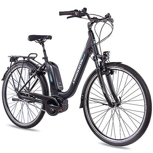 CHRISSON 28 Zoll Damen Trekking- und City-E-Bike - E-Cassiopea...