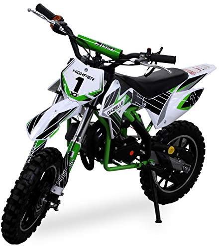 Kinder Mini Crossbike Gazelle 49 cc 2-takt inklusive Tuning...