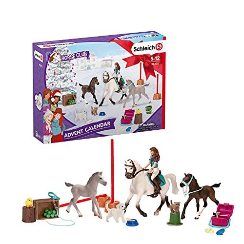 Schleich 98270 Spielset - Horse Club Adventskalender 2021 (Horse...