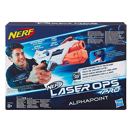 Nerf Laser Ops AlphaPoint, LaserTag-Blaster mit Licht- &...