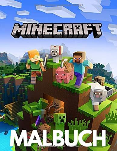Minecraft Malbuch: Wunderbares Minecraft-Malbuch, Erstaunliches...