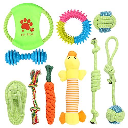 Wishstar Welpenspielzeug, Hundespielzeug Set, 10pcs Langlebiges...