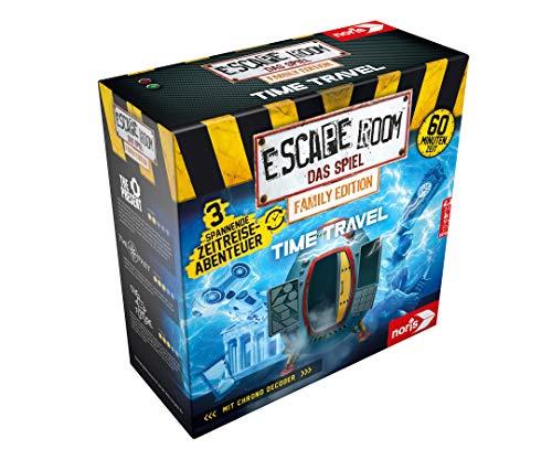 Noris 606101968 - Escape Room Time Travel (Family Edition) - Familien und...