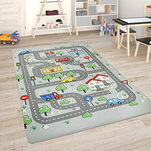 Paco Home Kinderteppich Teppich Kinderzimmer Spielmatte...
