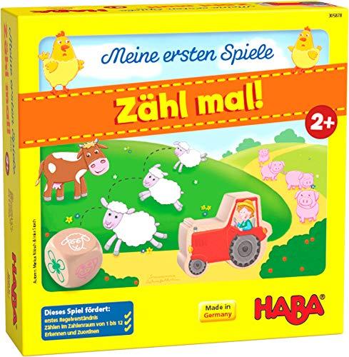 HABA 305878 - Meine ersten Spiele – Zähl mal!, Spiel ab 2...