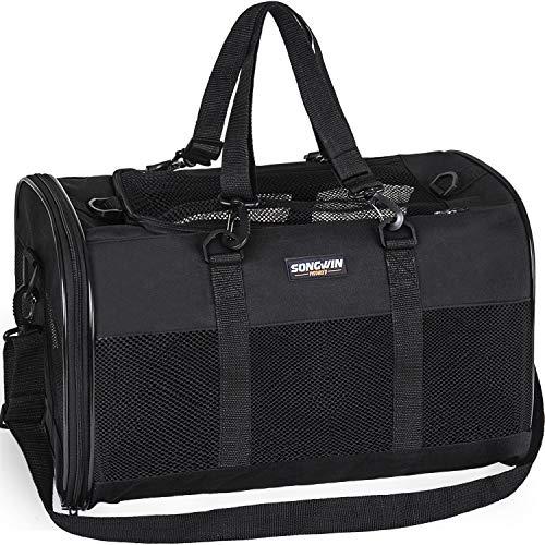 Songwin Hundetasche,Große Transporttasche für Haustiere,faltbar...