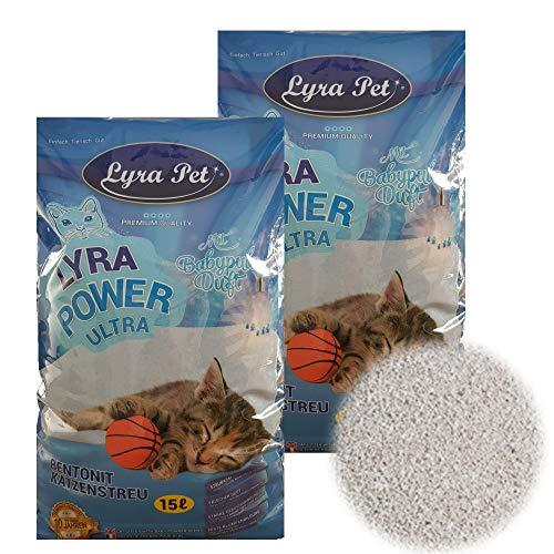 30 Liter LyraPet Cats Power Ultra Excellent Katzenstreu...