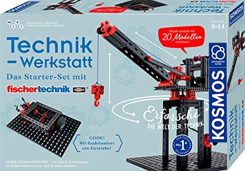 KOSMOS 628208 - Technik-Werkstatt, 20 Technik-Modelle mit...