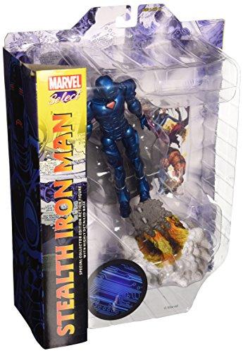 Diamond Select Stealth Iron Man Figur, 18 cm