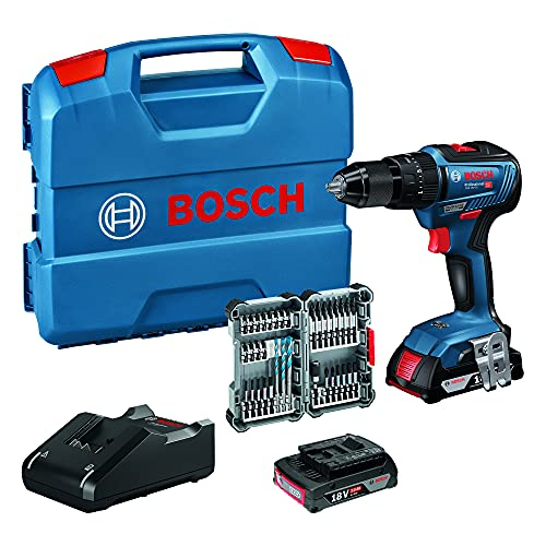 Bosch Professional 18V System Akku Schlagbohrschrauber GSB 18V-55...