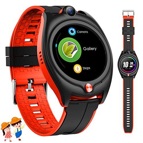 4G Kinder Smartwatch mit GPS, Kinder Sport Uhren Telefon mit...