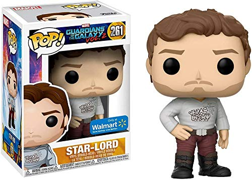 Figur POP. Marvel Guardians Of The Galaxy 2 STAR-LORD with Gear Shift Shirt Exclusive
