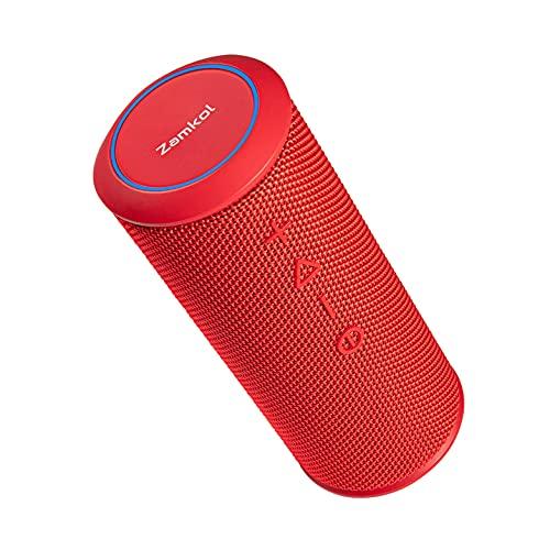 Bluetooth Lautsprecher Zamkol ZK606, 24 Watt, HiFi 360° Stereo...