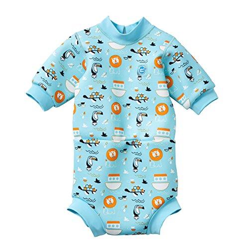 Splash About Baby Happy Nappy Neoprenanzug, Noah's Ark, 3-8...