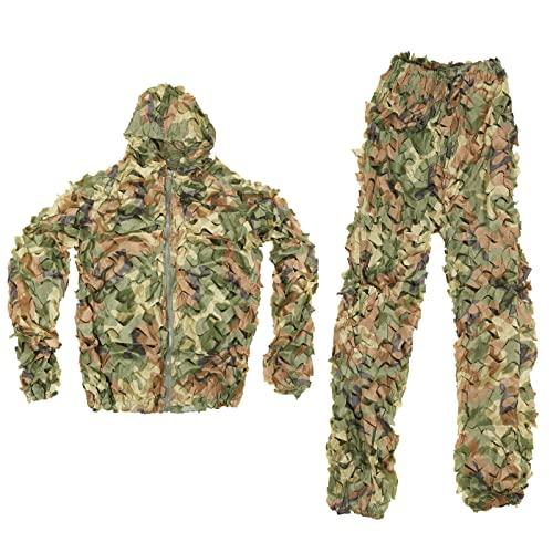 Splenlife Jagdbekleidung Camouflage, Tarnkleidung 3D Airsoft...