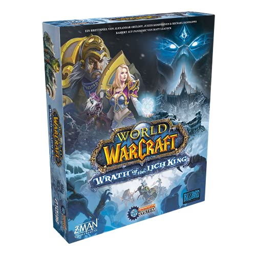 Asmodee World of Warcraft: Wrath of The Lich King, Kennerspiel,...