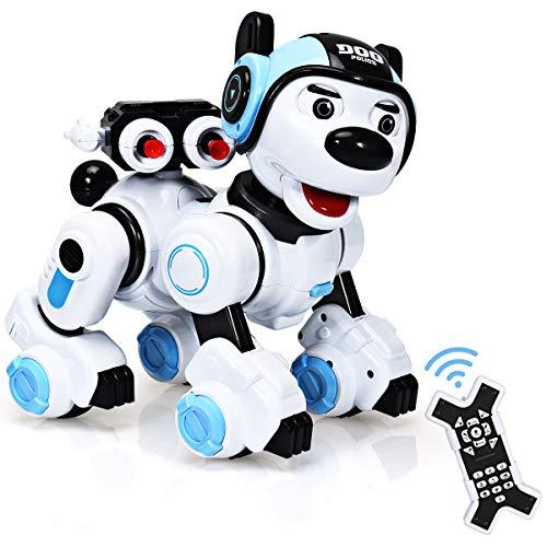 GOPLUS Fernbedienung Roboterhund für Kinder, Intelligenter...