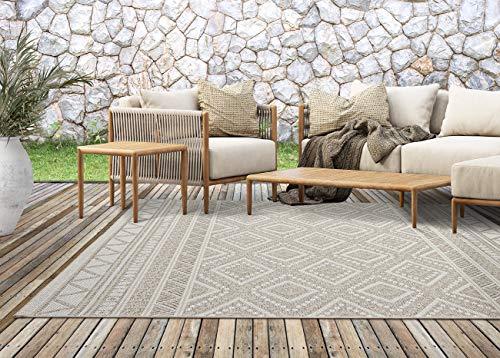 the carpet Calgary In- & Outdoor Teppich Flachgewebe, Modernes...