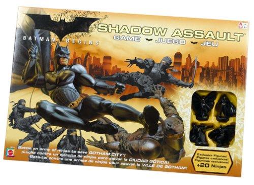Mattel - Batman G9144 - Batman Begins Angriff der Schattenliga...