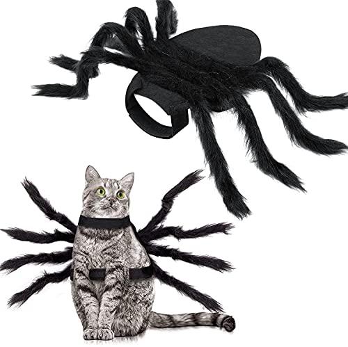 HOTSAN Halloween Spinne Kostüm für Hunde Katze, Halloween...